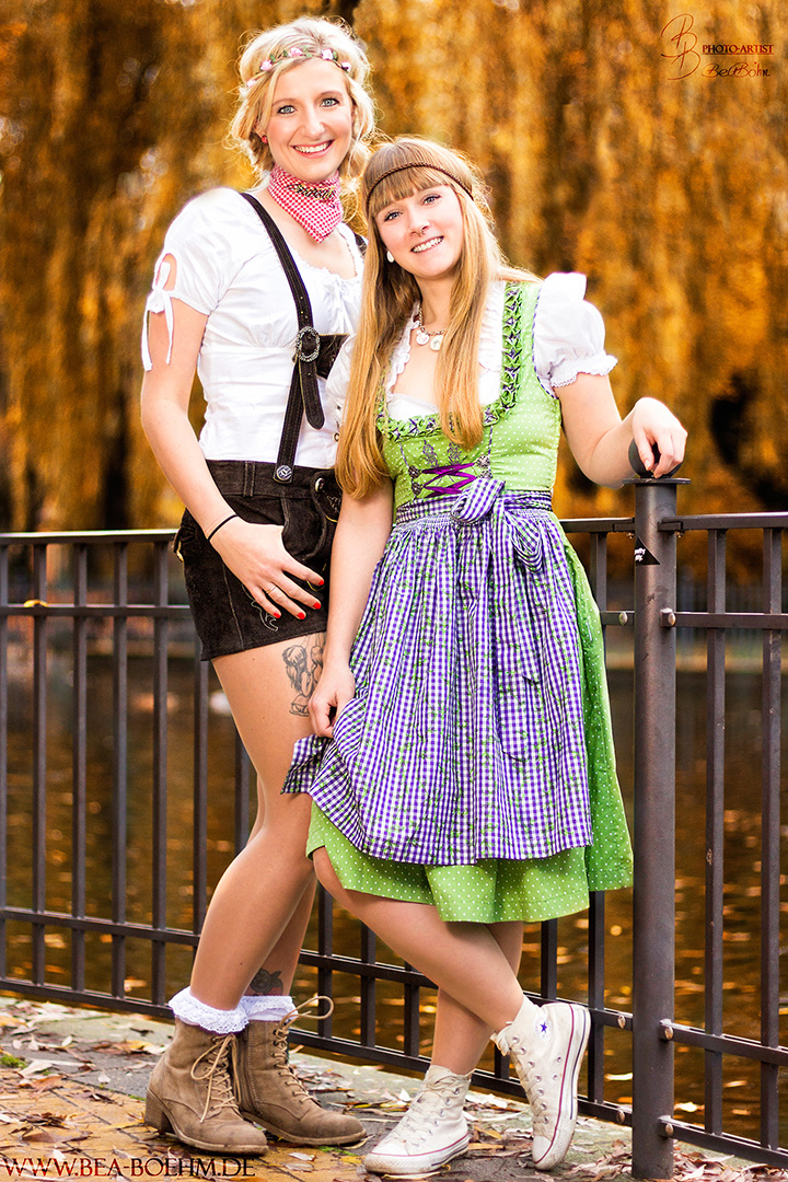 03 Sandra und Lotti im Volkspark Friedrichshain
