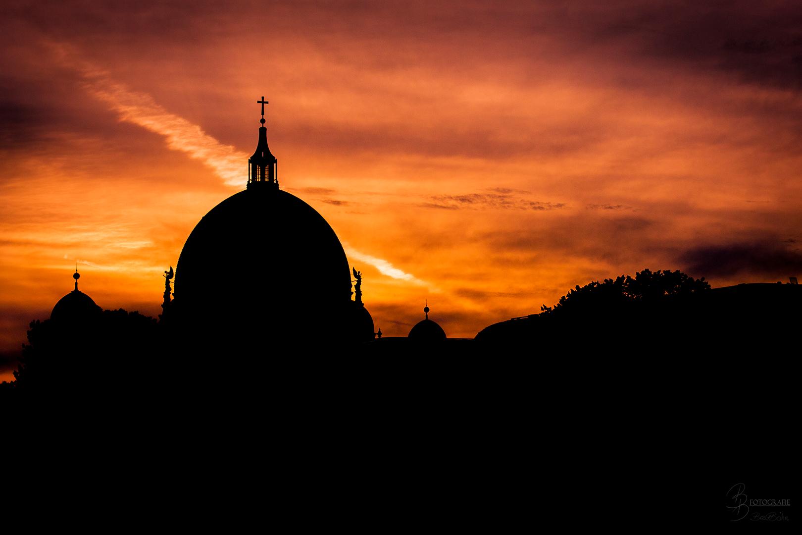 05 Sonnenuntergang über dem Berliner Dom
