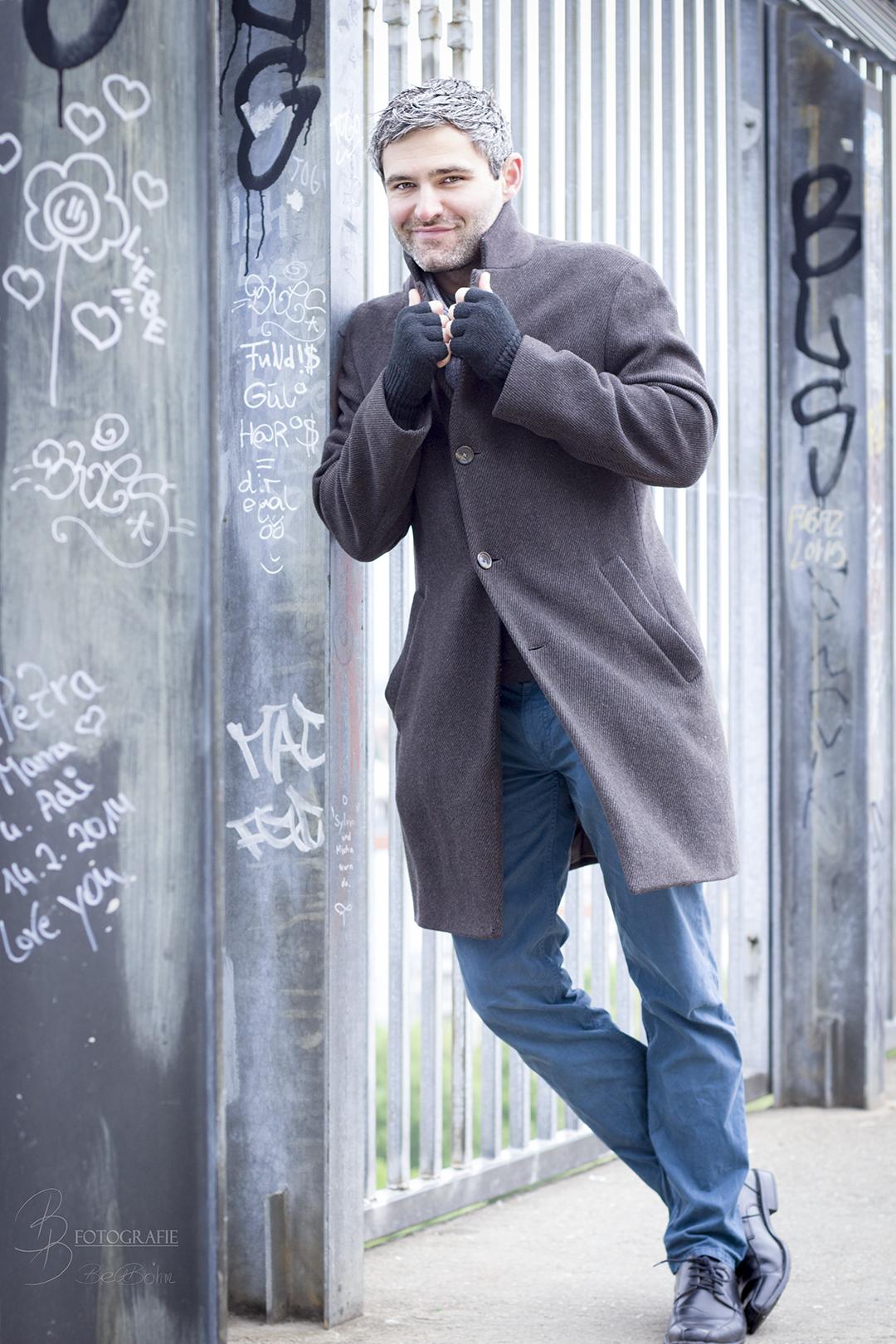 Jean Claude Castor – Verschmitztes Lächeln