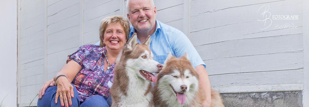 Teaser Shooting mit Tina, Rolf und den Huskies