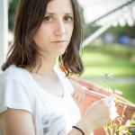 Spontaner Besuch von Carlotta - Homeshooting auf dem Balkon - 5